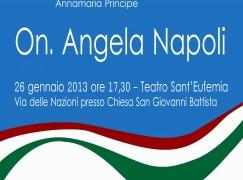 """Lamezia Terme (CZ), presentazione dell'associazione """"Risveglio Ideale"""""""
