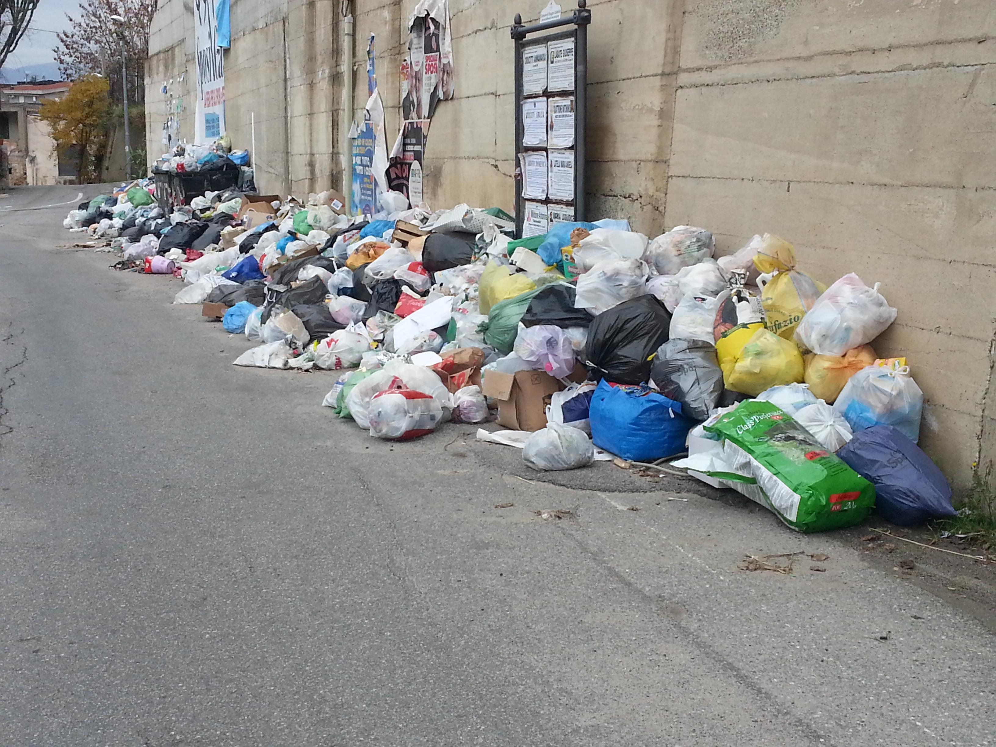 Emergenza rifiuti a reggio il problema conferimento for Conferimento rifiuti