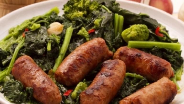 Salsiccia e broccoli di rape