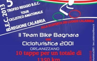 Quinto Trofeo Reggio B.E.C, tour ciclistico amatoriale