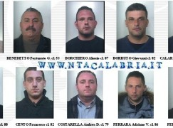 Operazione Ada, le foto degli arrestati