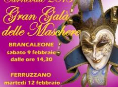 Si festeggia il Carnevale a Brancaleone e Ferruzzano