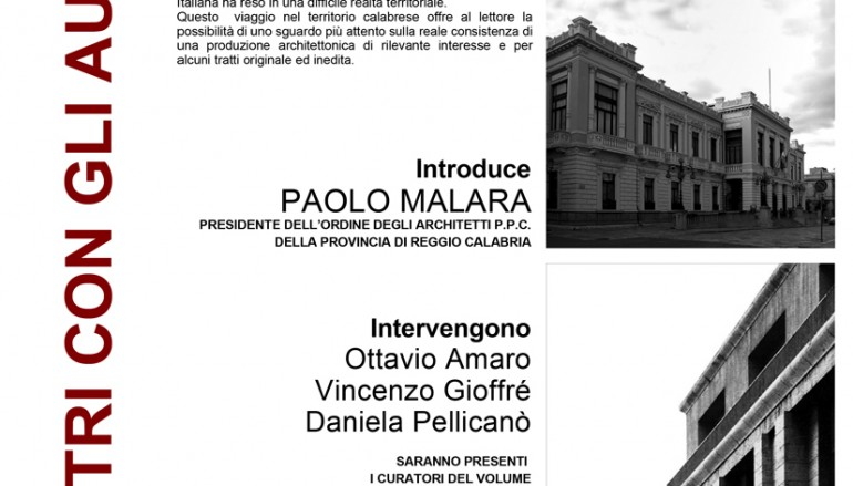 """Reggio Calabria, presentazione della """"Guida alle Architetture del 900 in Calabria"""""""