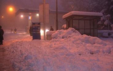 Saracena (Cs), arriva la neve