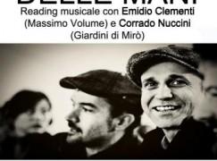 """Cosenza, Emidio Clementi e Corrado Nuccini in """"La ragione delle mani"""""""