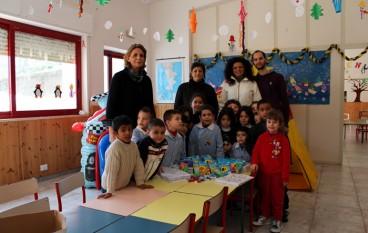 Brancaleone (RC), Pro Loco dona materiali ludico-ricreativi ai bambini dell'asilo