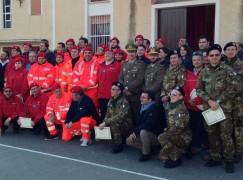 Diamante, Corpo di soccorso e Corpo Militare dell'Ordine di Malta uniti nella formazione