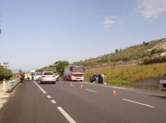 Incidente sulla SS 106 all'altezza di Bocale, 2 feriti gravi