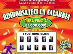 """""""Rimborsateci la Calabria"""", manifestazione di protesta del movimento """"Andate Via"""""""