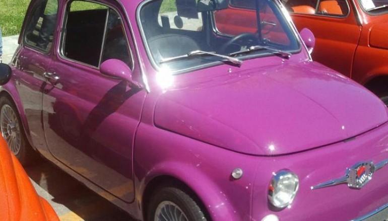 """Reggio Calabria, al via raduno Fiat 500 """"Bronzi di Riace"""""""