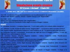 """Reggio Calabria, convegno su """"Emergenza sismica: interventi e criticità"""""""