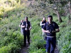 Un gruppo di trekkers calabresi in partenza per la Giordania