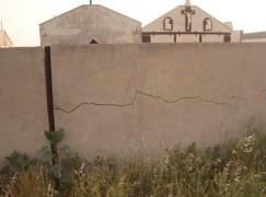 Situazione di grave degrado al Cimitero di Lazzaro (RC)