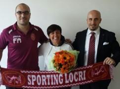 Sporting Locri, arriva il nuovo coach Nicoletta Sergiano