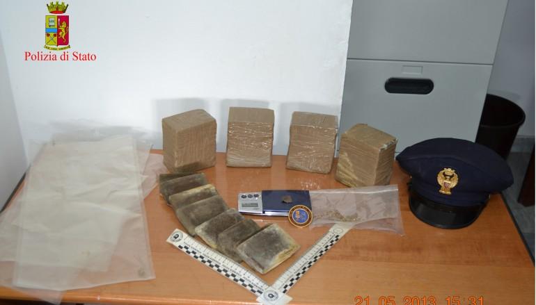 Melito di Porto Salvo (RC), deteneva illegalmente droga, arrestato 27enne