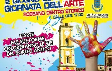 """Rossano (CS), tutto pronto per la """"Giornata dell'Arte"""""""