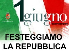 """A Diamante il 1° giugno l'iniziativa """"Festeggiamo la Repubblica"""""""