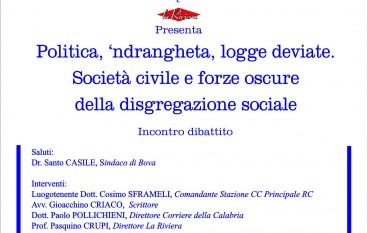 Incontro- dibattito a Bova con il Magistrato Alberto Cisterna