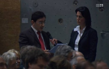 Il Coordinamento No al Carbone all'assemblea Repower