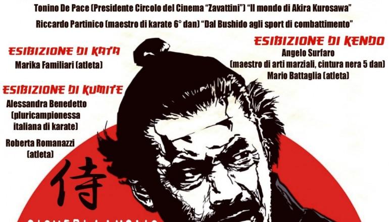 """A luglio la conferenza """"Akira Kurosawa ed il mondo dei samurai"""""""