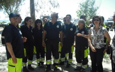Melito Porto Salvo (Rc), successo per la simulazione della protezione civile