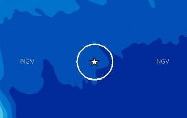 Terremoto 3.3 nel mar Ionio