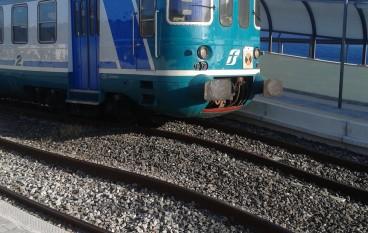 Stazione ferroviaria di Annà, si parte
