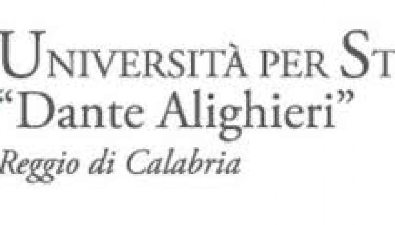 Reggio Calabria, letture dantesche all'Università per Stranieri