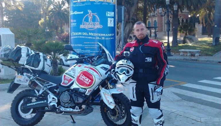 Motociclismo, Gianclaudio Aiossa nel Tabernas