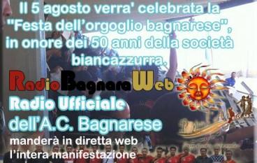 """Il 5 agosto la """"Festa della Bagnarese"""""""