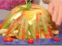 ASPIC colorato di pollo e verdure