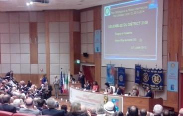 """Il Rotary Club """"Area Grecanica Capo Sud"""" all'assemblea del Rotary International"""