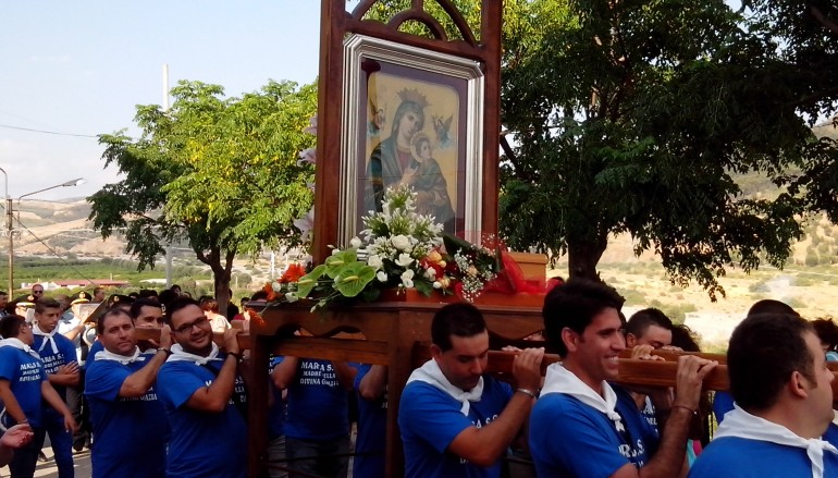 Festa Madonna delle Grazie Caredia/Lacco Melito PS (RC), le foto