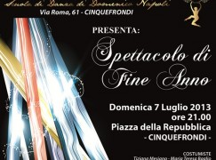 A Cinquefrondi saggio di fine anno dell'ASD A Time For Dancing