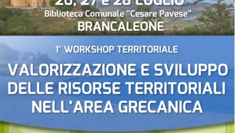 Brancaleone (RC), programma del 1° Workshop Territoriale nell'area Grecanica