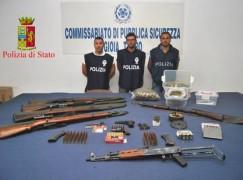 Armi: sequestrato arsenale nel reggino