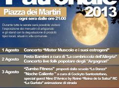 Festa patronale a Locri (RC), spettacolo finale con Gatto Panceri