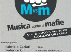 """A Condofuri """"Musica contro le Mafie"""""""