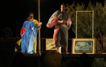 """Teatro, successo per """"L'Orso"""" di Checov a Roghudi (RC)"""
