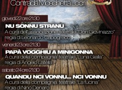 """Locri (RC), parte la rassegna """"Teatro in Vernacolo"""""""
