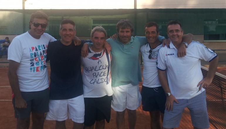 Tennis, il circole Tennis Soveria Mannelli conquista una storica promozione nella D1 regionale
