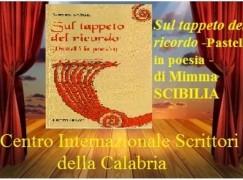"""Il CIS della Calabria presenta il libro """"Sul tappeto del ricordo"""" di Mimma Scibilia"""