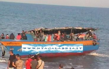Brancaleone (Rc), nuovo sbarco di immigrati