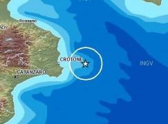 Scossa terremoto in Calabria. Nessun danno