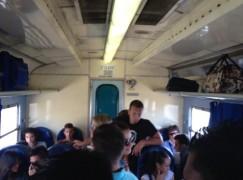 Melito di Porto Salvo-Reggio Calabria, ammassati sul treno