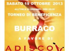 Siderno (RC), torneo di Burraco per raccolta fondi a favore dell'ADISCO