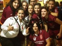 Donne in campo contro il femminicidio, lo Sporting Locri trionfa alla Notte Rosa