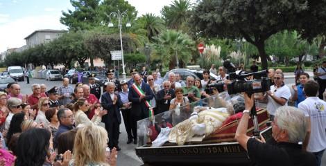 Locri (RC), l'Amministrazione Comunale accoglie l'Urna di Don Bosco