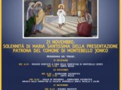 Festa patronale a Montebello Jonico