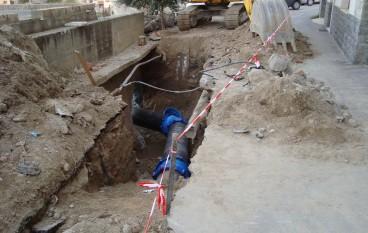 Guasto all'acquedotto Tuccio: emergenza idrica a Montebello e Motta